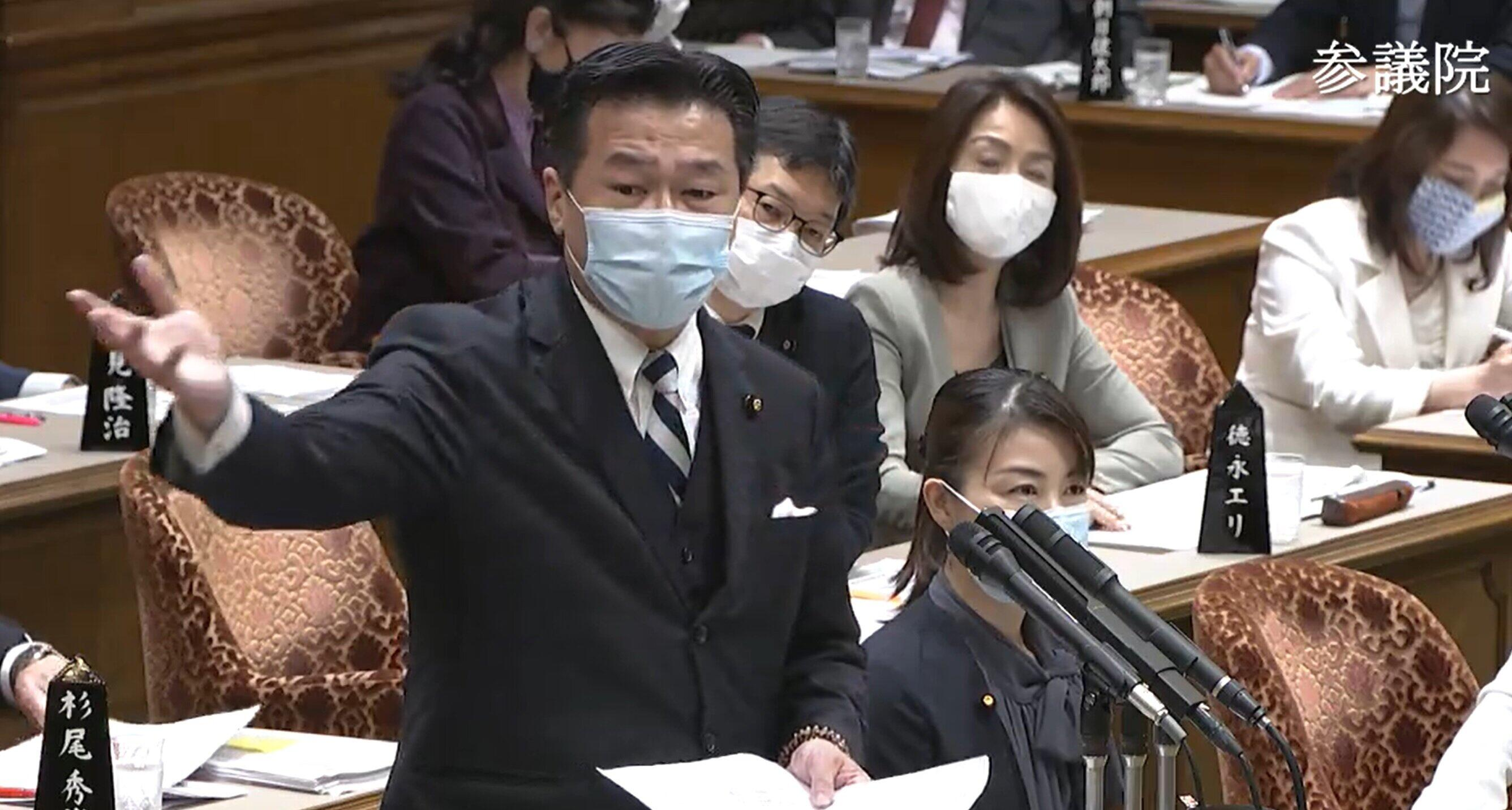 尾身副座長への国会質問に疑問続出 「#福山哲郎議員に抗議します」もトレンド1位に