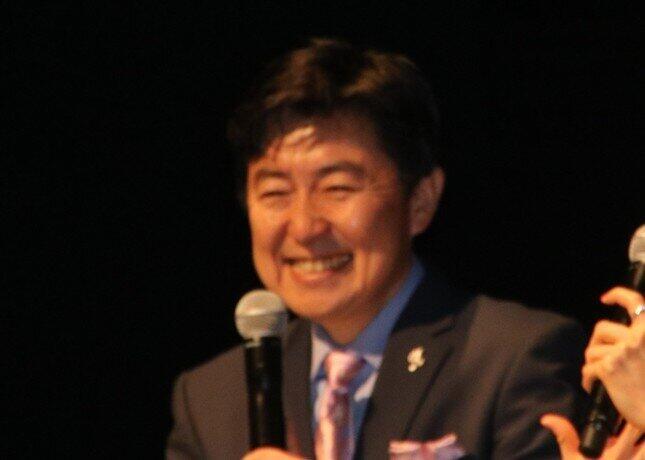 笠井信輔アナウンサー(2018年撮影)