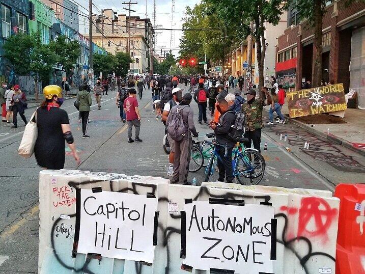 岡田光世「トランプのアメリカ」で暮らす人たち<br /> 「シアトル占拠」に市長「お祭りみたい」、大統領は「制圧せよ」