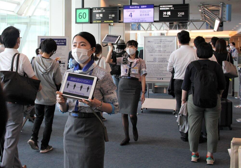 「優先搭乗」は中止、飲み物も簡略化... 「サービスダウン」指摘されても、感染防止に苦闘する【空の旅の新常態】