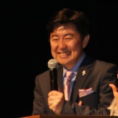 笠井信輔さん(2018年撮影)