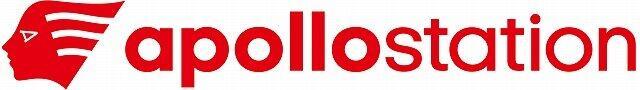 新しい「アポロステーション」のロゴ