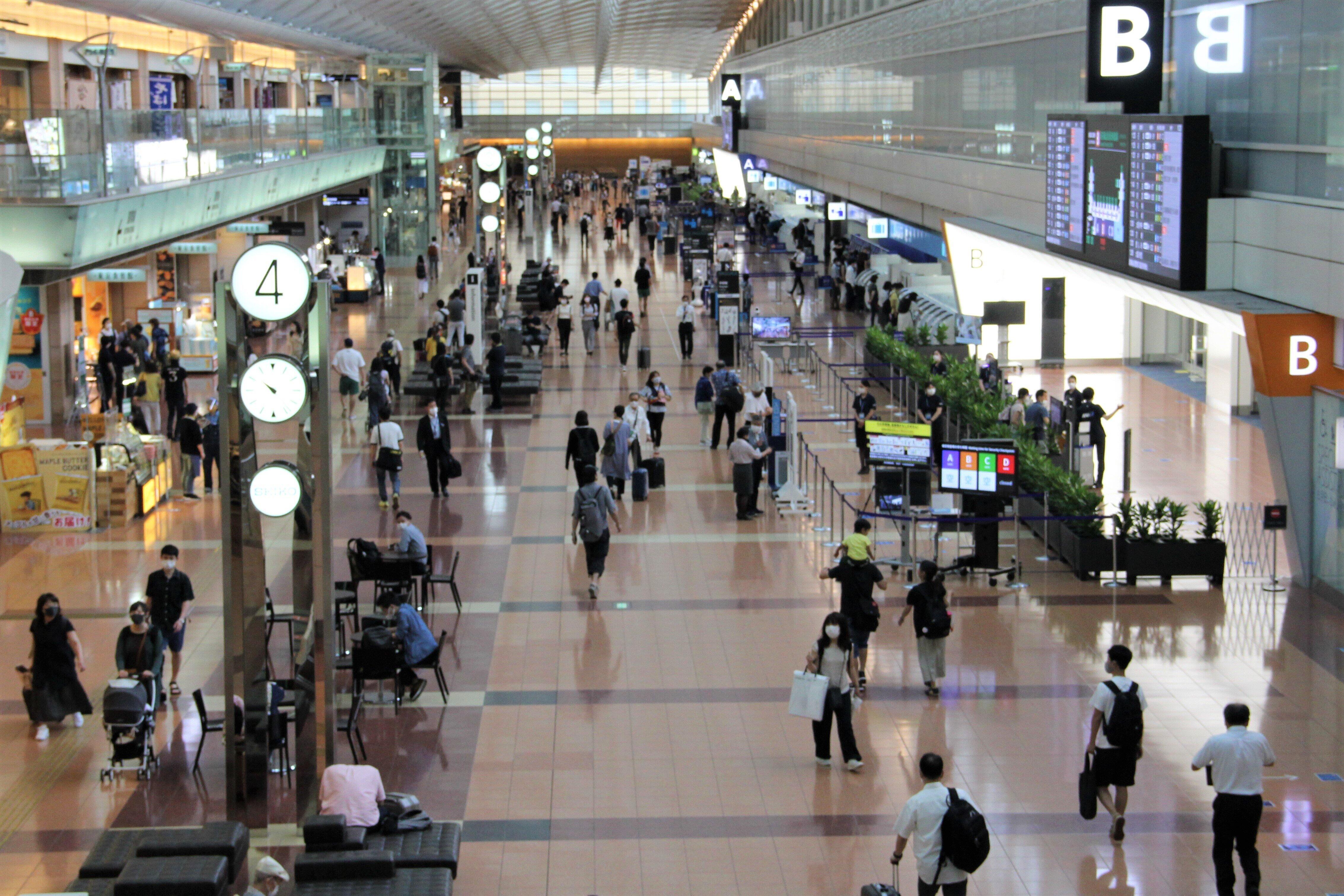 「Go Toトラベル」が始まった2020年7月22日の東京・羽田空港