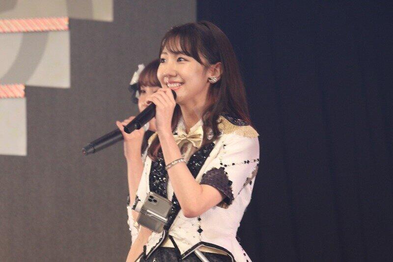 AKB48の柏木由紀さん(2020年1月撮影)