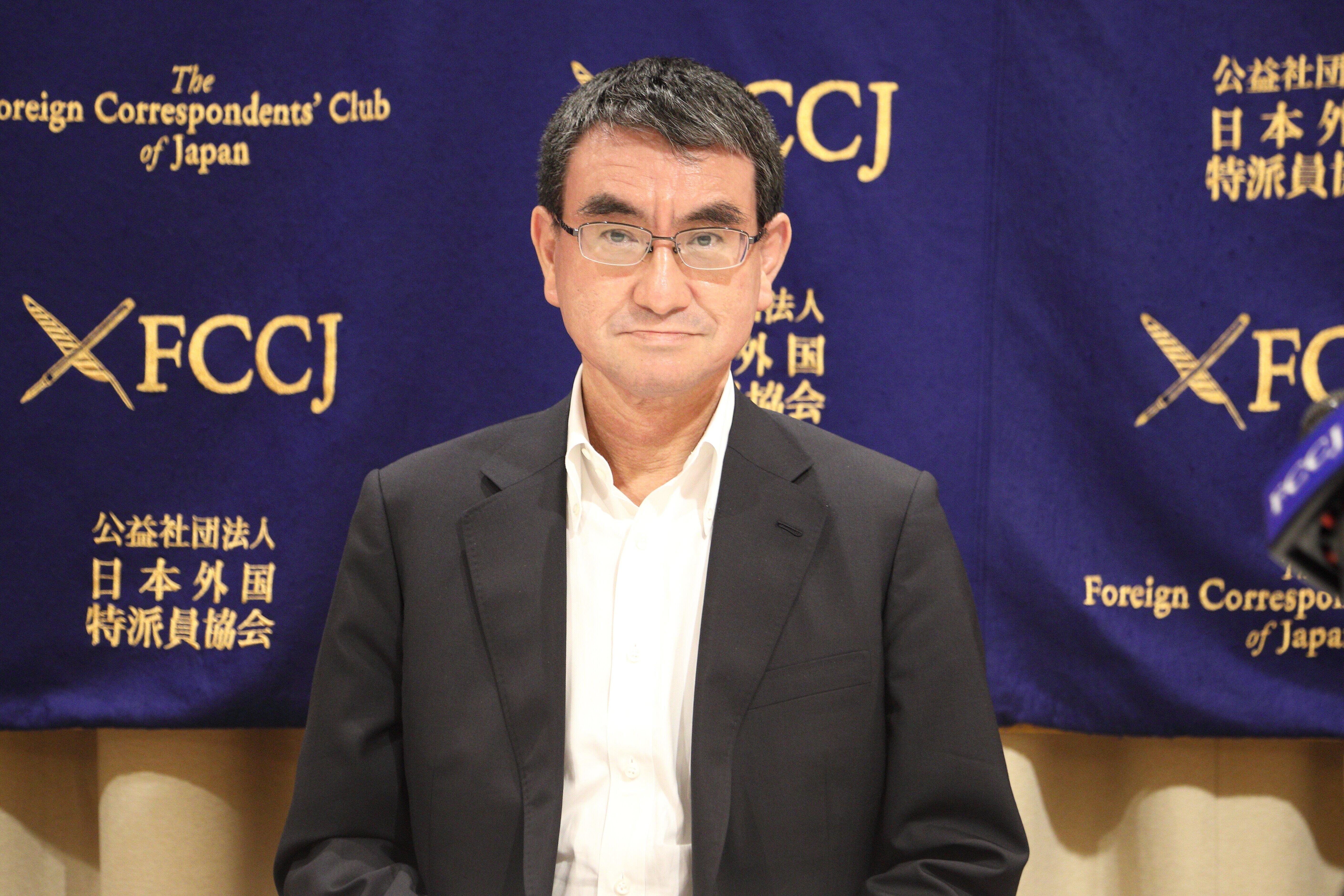 河野太郎・防衛相(2020年6月)