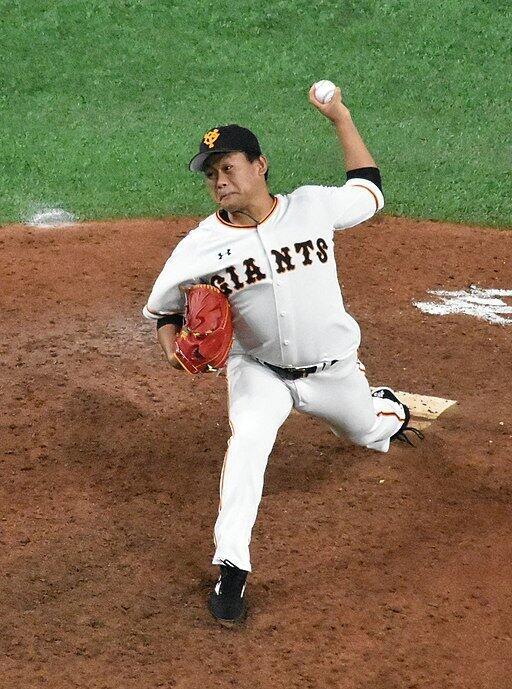 田口麗斗投手(江戸村のとくぞう/Wikimedia Commonsより)