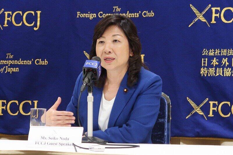 「女性政策」という言葉をなくしたい 野田聖子氏が男性議員、メディアに呼びかける理由
