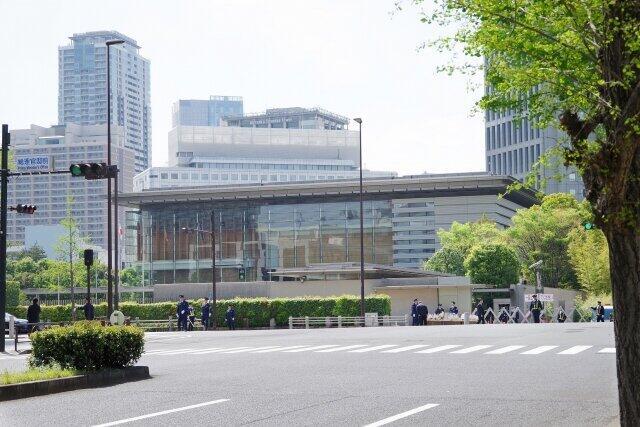 首相官邸(東京都千代田区)