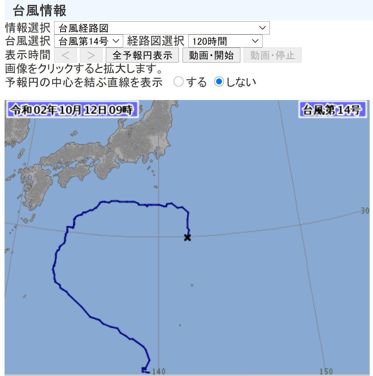 台風14号「Uターン」ヨーロッパでは予測されていた えっ、なんで?気象庁に聞くと...