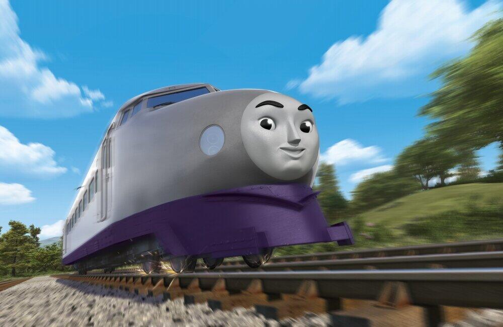 新幹線モデルの「ケンジ」登場で「きかんしゃトーマス」トレンド入り 鉄道マニアからも熱視線が