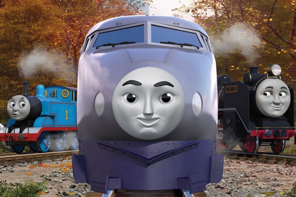 正面から見た顔((C)2020 Gullane(Thomas)Limited.)