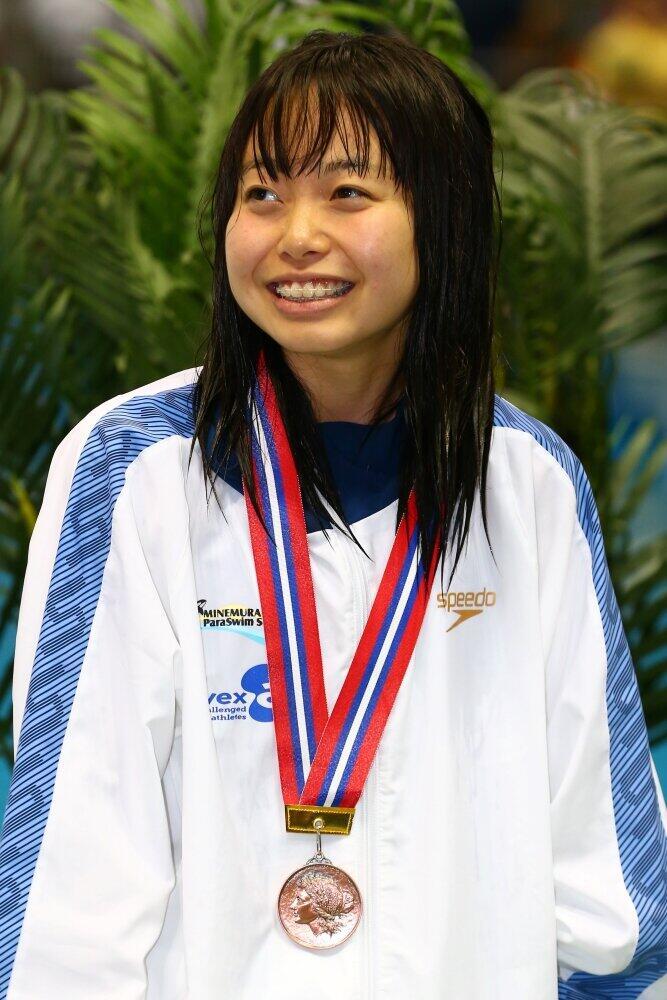 パラ水泳選手・西田杏「手も足もないけど」動画に反響 ファンからは「努力に感動」「元気でました」