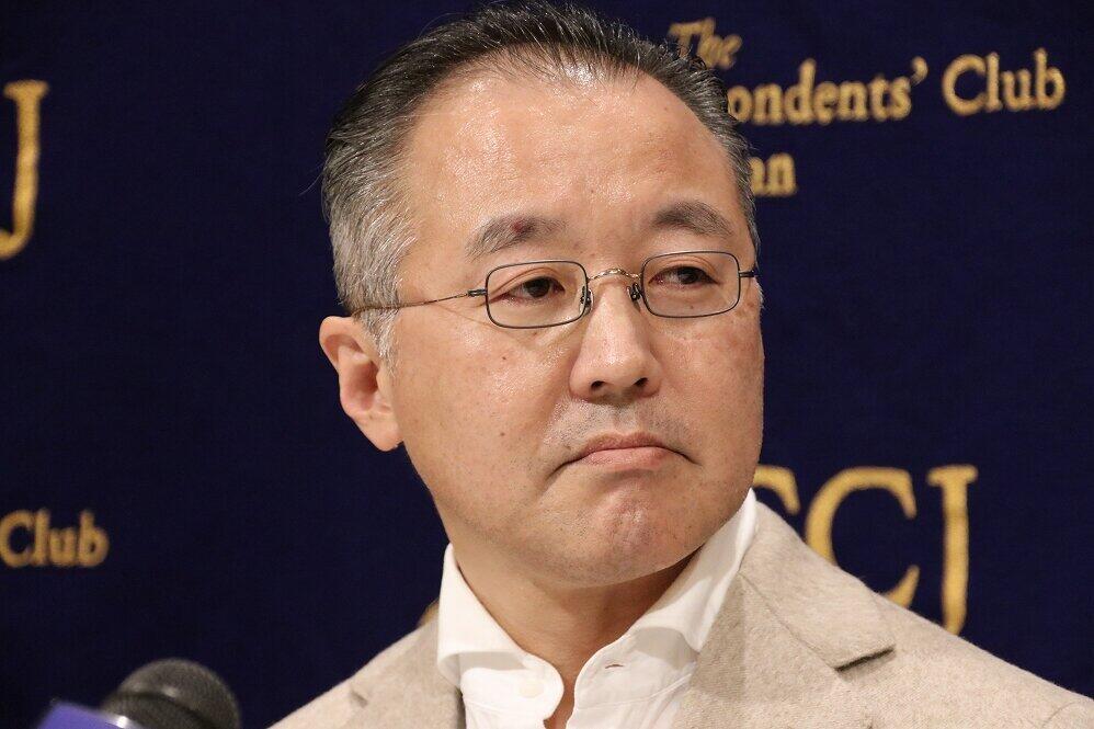山口敬之氏(2019年12月撮影)