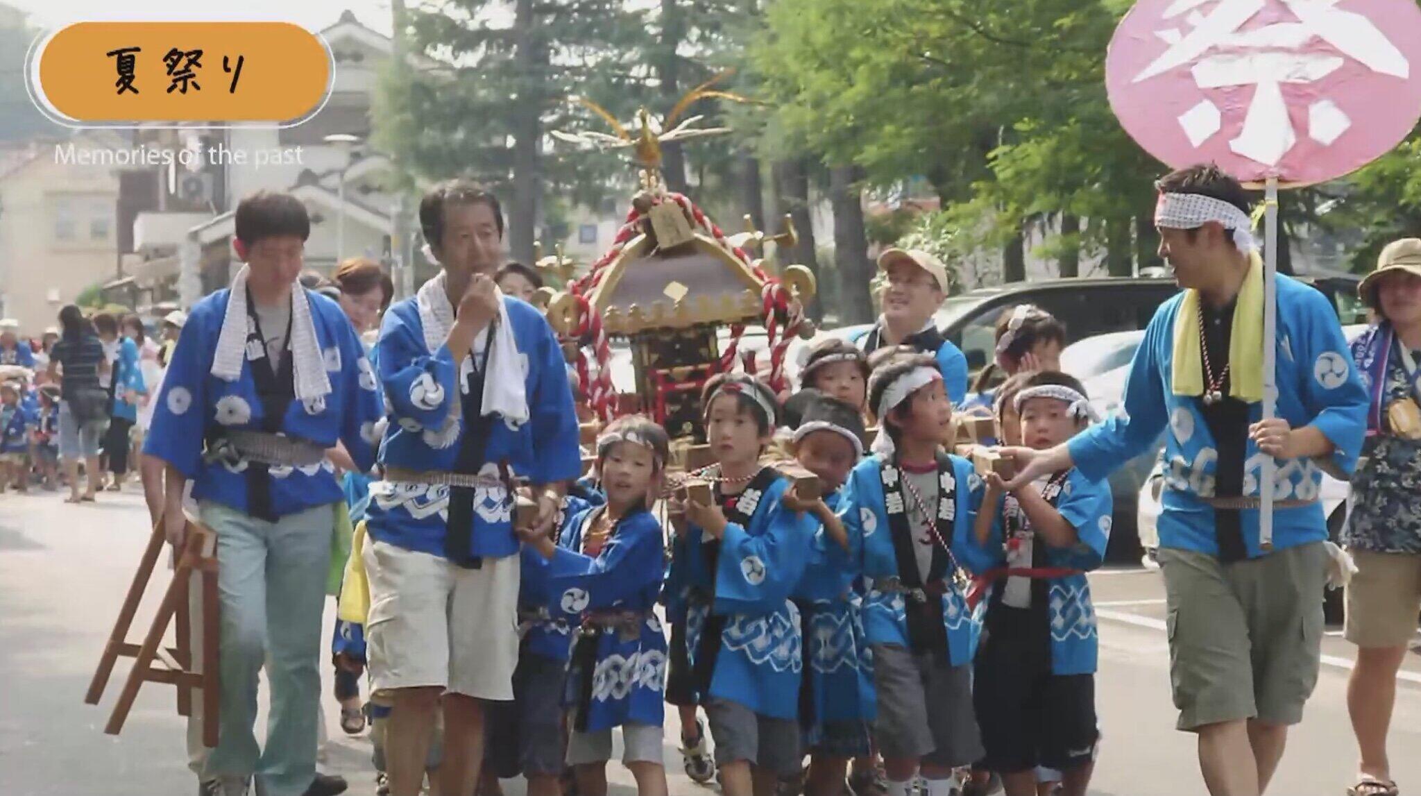 夏祭りは団地の恒例行事となってきた
