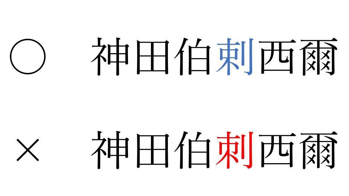 朝日新聞が間違えた「剌」と「刺」