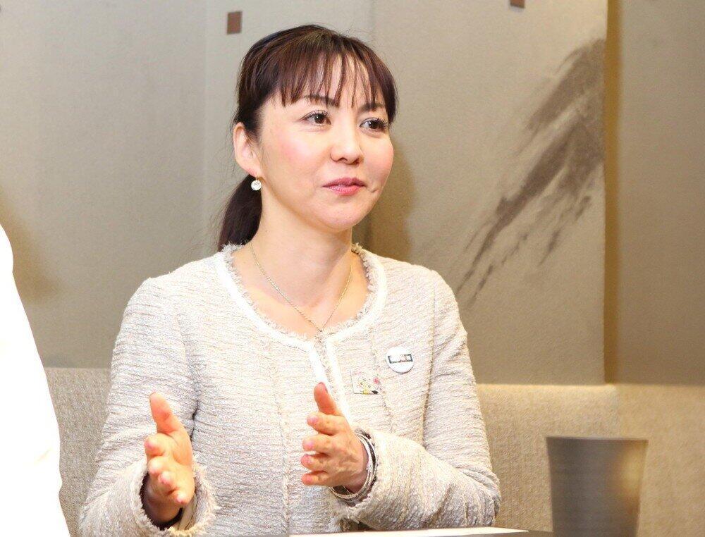 ピアシス新橋店で店長を務める田中葉子さん