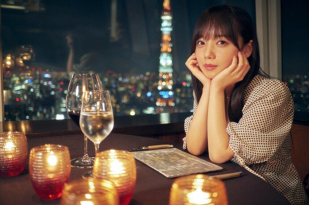 「とっておきの恋人」(主婦と生活社)のテーマは「東京で彼女とデート」。都内のデートスポットで撮影が行われた