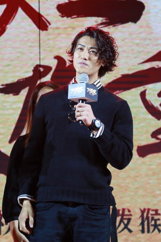 赤西仁さん(2017年、写真:アフロ)