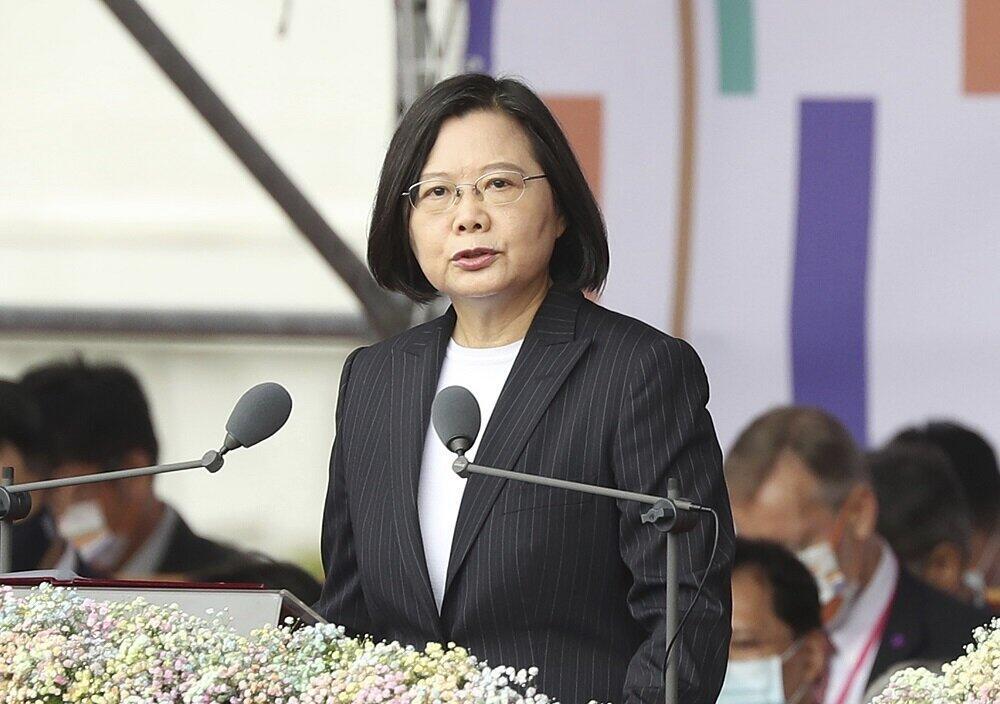 台湾の蔡英文総統。日本語でツイートする機会も多い(写真:AP/アフロ)
