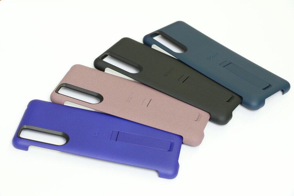 Xperia 5 IIのカラーに合わせた4色を用意