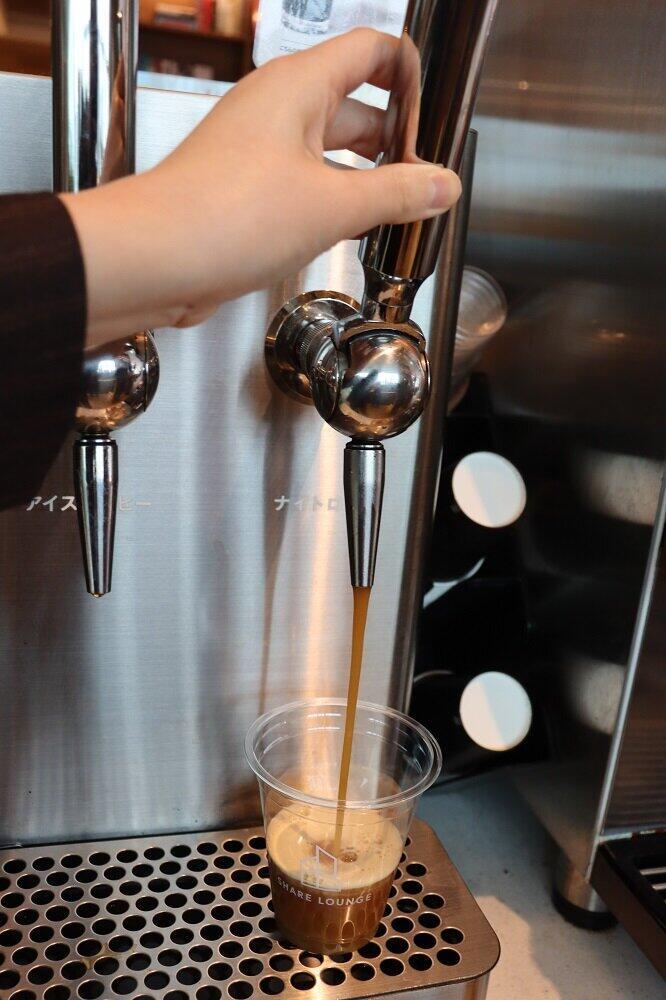 窒素を含んだクリーミーなコーヒー「ナイトロコーヒー」