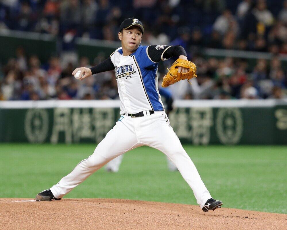 斎藤佑樹(写真:AP/アフロ)