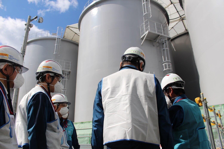 東京電力福島第1原発の処理水をめぐり、中国は「ゴジラ」まで持ち出した(写真は東京電力撮影)