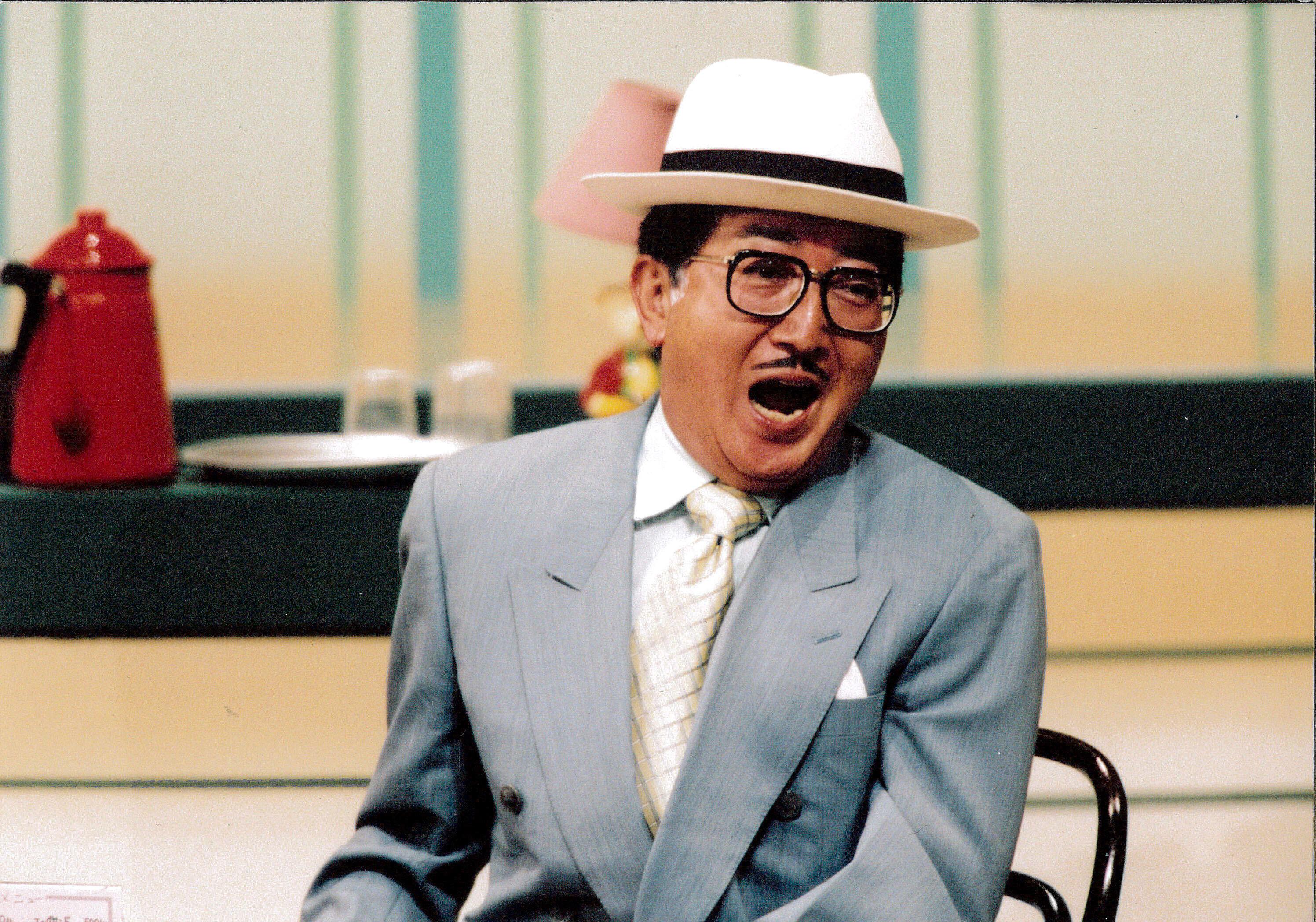 吉本新喜劇出演時のチャーリー浜さん(吉本興業提供)