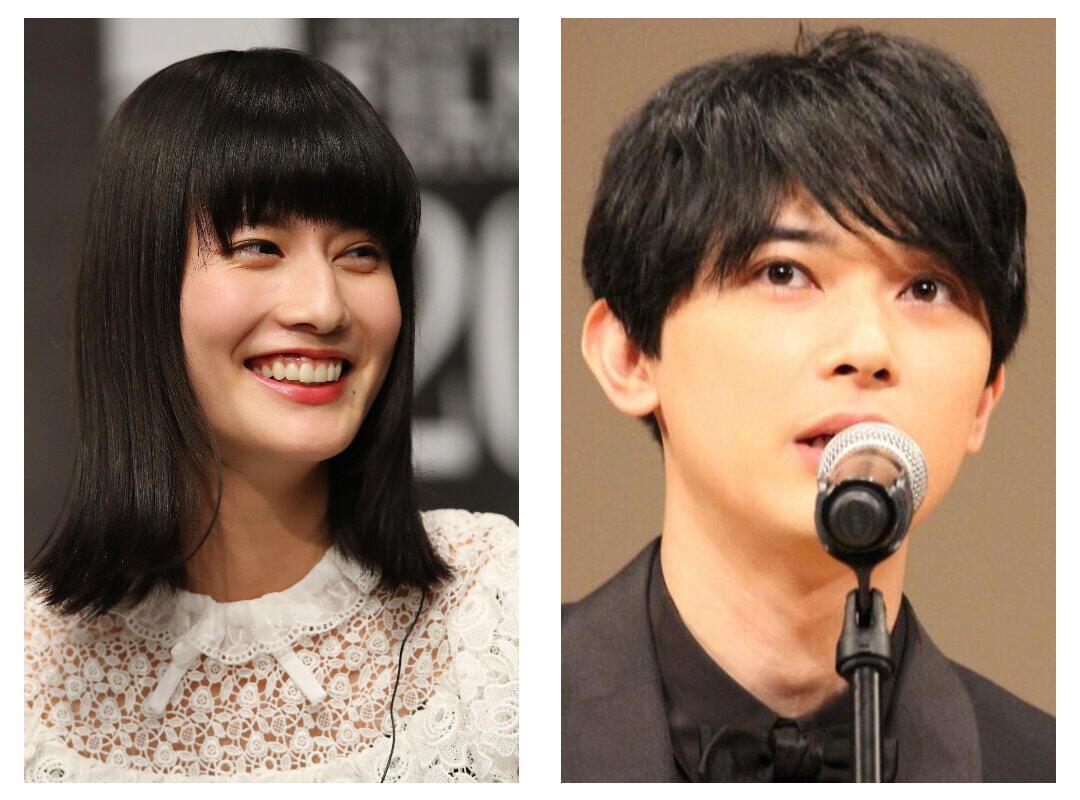 橋本愛、吉沢亮との「夫婦」ショット公開 「青天を衝け」で共演「お洋服の栄一さんに違和感、笑」