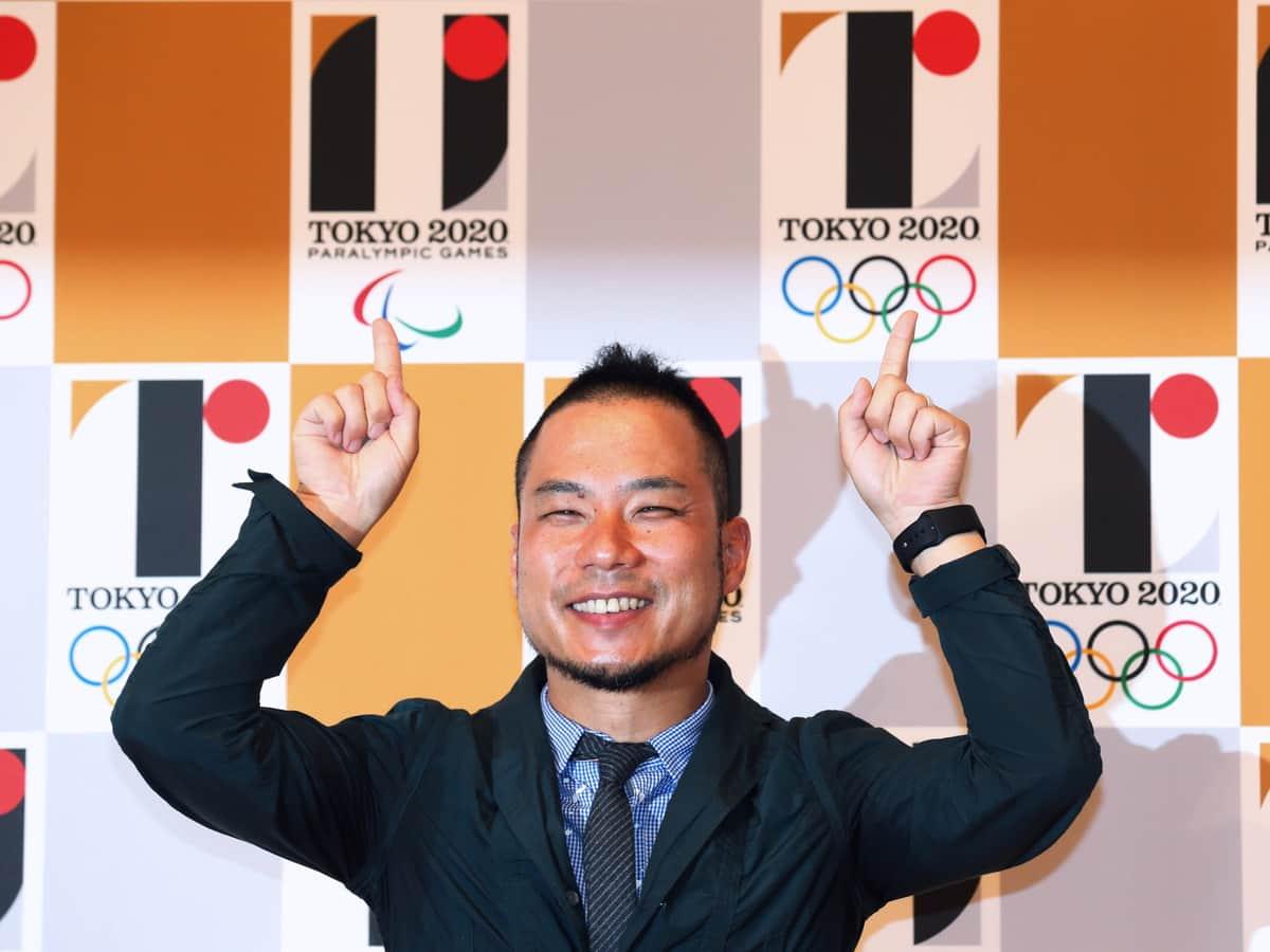 2015年7月、公式エンブレムに佐野研二郎氏のデザインが採用された。直後に盗用の指摘が相次ぎ(佐野氏は記者会見を開いて否定)、同9月に使用中止が決まった(写真:アフロスポーツ)