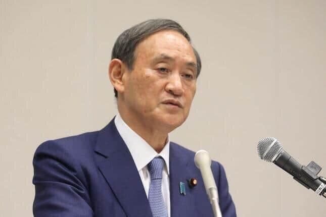 総裁選不出馬の意向を示した菅義偉首相(20年9月撮影)