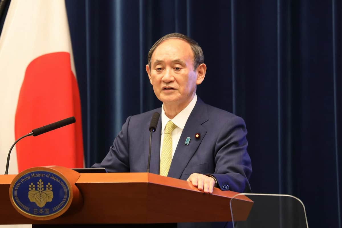 菅義偉前首相の最後の会見は9月28日に行われた