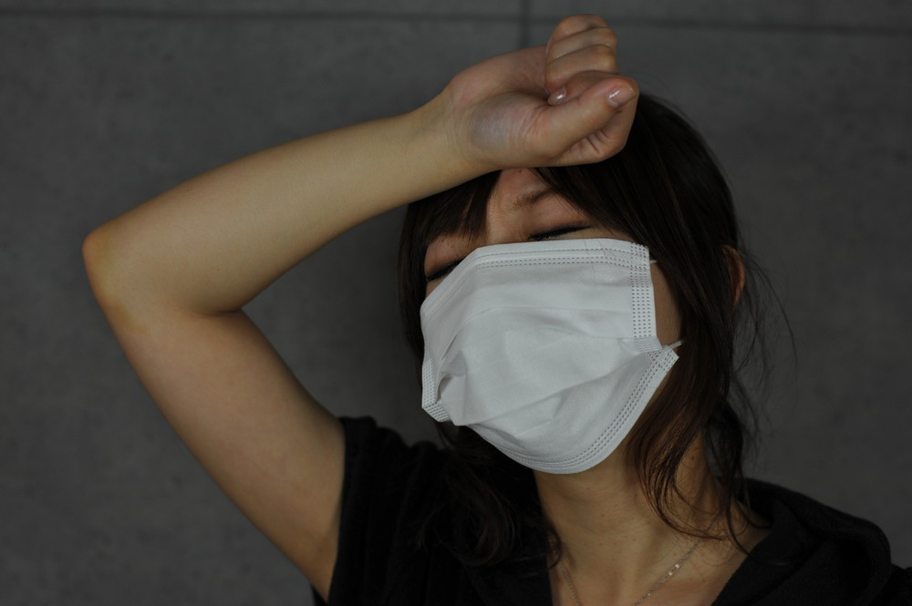 マスク 酸欠 めまい