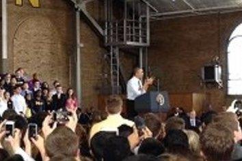 オバマが来た!見た!聞いた! 大学での「大ウケ」スピーチに学ぶ3つのコツ