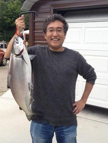 アメリカへ来たらミシガン湖へGO! 釣り好きの度肝抜くサーモンフィッシングとは