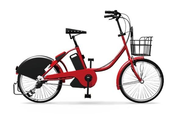シェアリングに導入される自転車