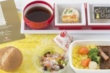 「老舗の洋食をホノルル便で」 JALがエコノミー客におもてなし