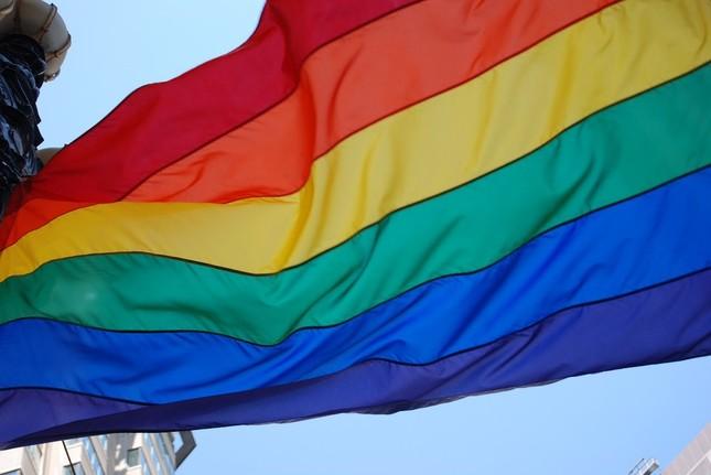 LGBTの尊厳を象徴する7色の旗