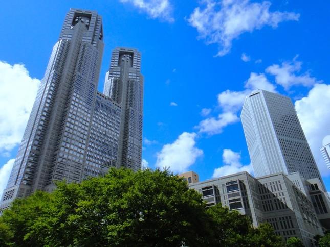 202mの高さから東京を一望できます