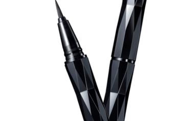 筆ペンの技術をアイライナーに カネボウがぺんてるとコラボ