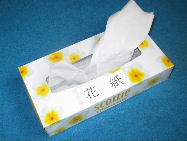 「鼻紙」ではなく「花紙」と思えば、鼻のかみ方も少しは優雅になるのではないだろうか