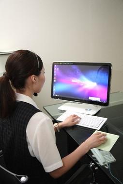 コールセンターのスタッフの需要が高まっている(写真はイメージ)