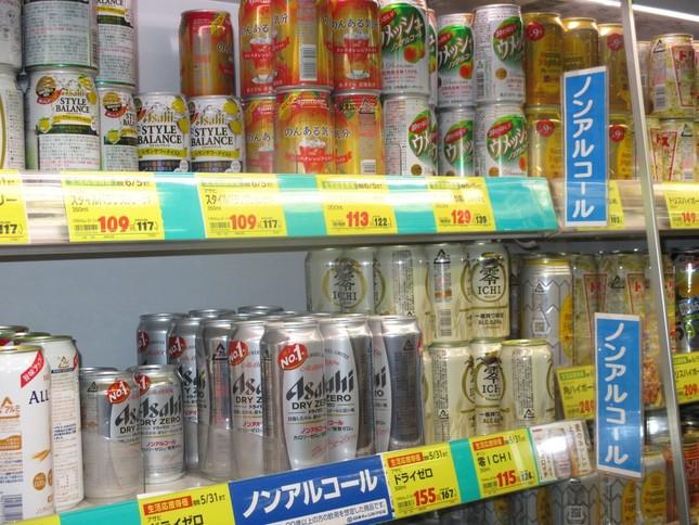 スーパーではノンアルビールの存在感が増しているが……