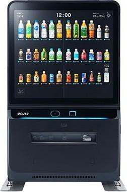 マーケティング機能もある、イノベーション自販機「acure」(JR東日本ウォータービジネス)