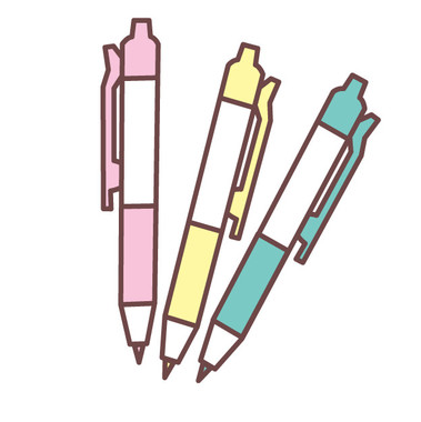 「かわいい」ボールペンも善し悪しです