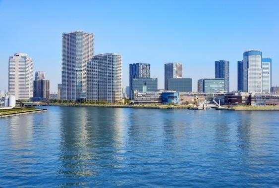 東京湾岸エリアの超高層マンションが人気