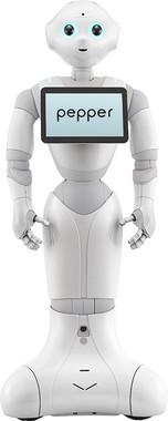 ぼくの「生みの親」は……(画像は、ヒト型ロボット「Pepper」。ソフトバンクのプレスリリースから)