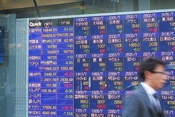 株価、一時1600円超安 2万2000円割れ 米国発の連鎖か?