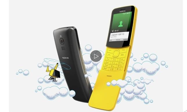 黄色がまぶしい!? あの「バナナフォン」が復活! (画像は、Nokiaのホームページから」