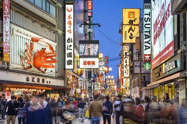 大阪は買い物目的の中国旅行者に人気(画像は、バイドゥのニュースリリースから)